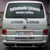 Autobeschriftung Reifenhandel Eckmann Heck