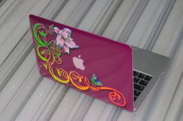 MacBook Air mit Airbrush und Pinstriping