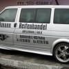 Autobeschriftung Reifenhandel Eckmann Seite